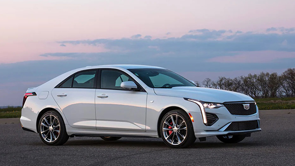 Exterior of the 2021 Cadillac CT4